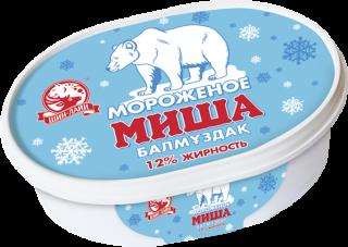 Ванильное мороженое в ванночке
