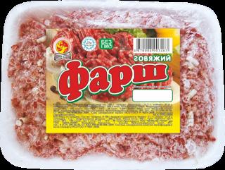 Фарш говяжий в лотке 0,4 кг