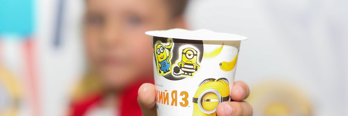 Новинку из серии мороженого «Миньоны»  представили к премьере мультфильма «Гадкий Я» в Алматы