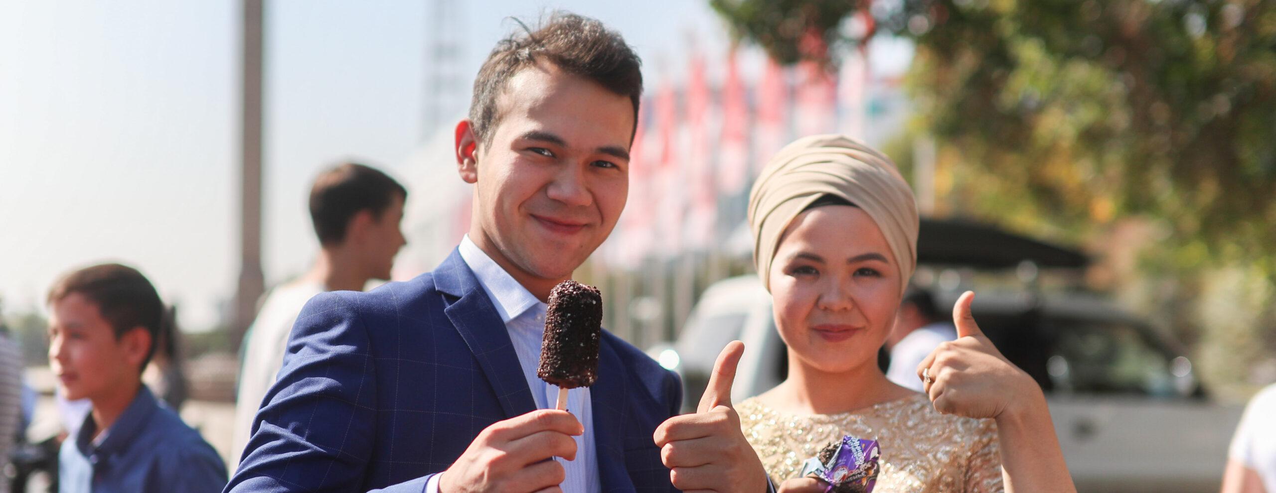 «Бомба» – самое популярное сливочное мороженое в Казахстане